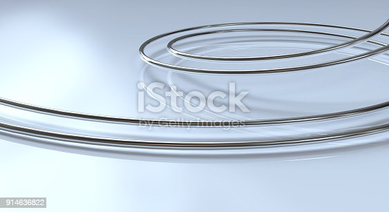 istock Abstract Silver Stripe Pattern Background 914636822