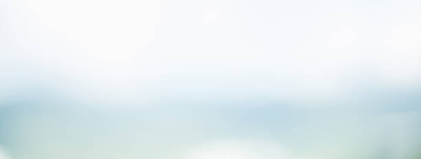 abstract simple clean blur white gray and light blue banner background - abstract backgrounds stock pictures, royalty-free photos & images