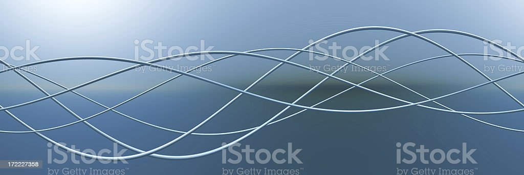 Abstract sine stock photo