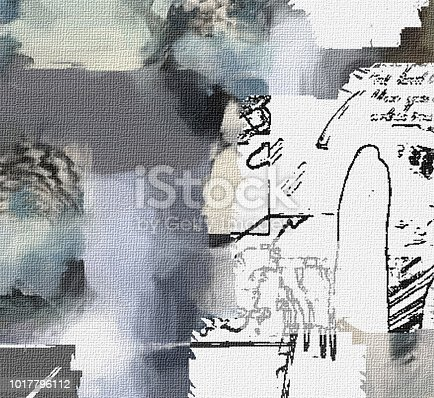 1011152398 istock photo Abstract Sketch 1017796112