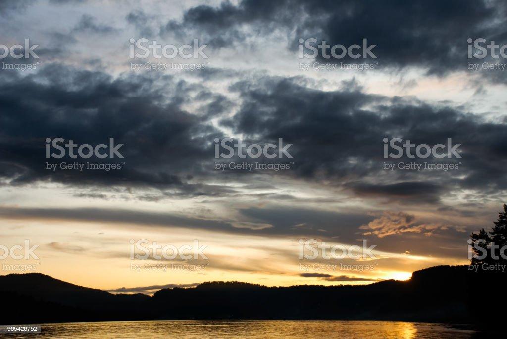 abstrait ciel en temps tôt le matin - Photo de Allumer libre de droits