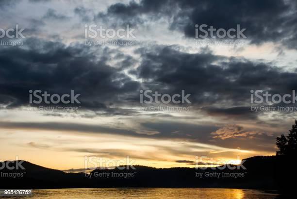 Foto de Céu Abstrato Em Vez De Manhã Cedo e mais fotos de stock de Acender