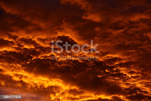 1013154212istockphoto abstract sky in the twilight 1064177524