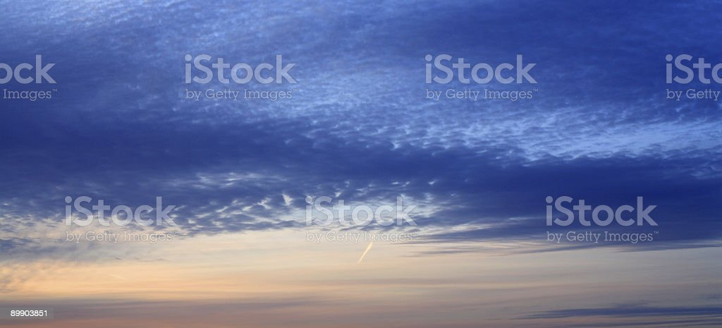 Abstract sky royalty free stockfoto