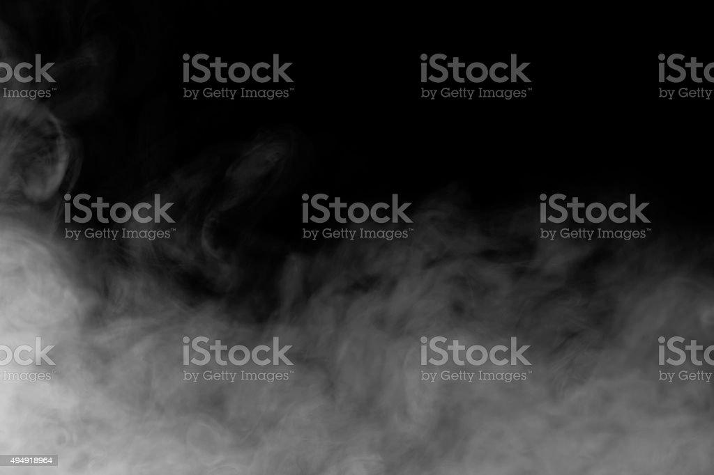 Abstraite fumée brouillard et arrière-plan - Photo
