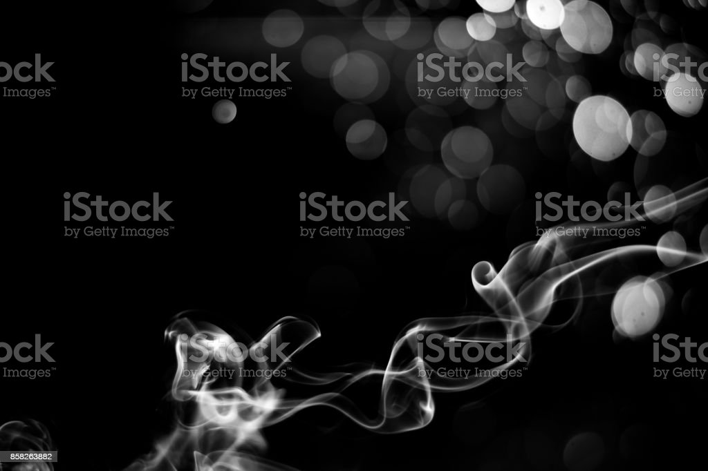 Abstract Smoke Isolated On Black Stock Photo Download Image Now Istock