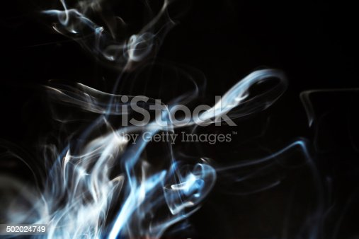 istock Abstract smoke pattern 502024749