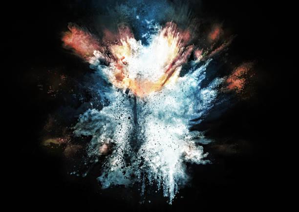 抽象的な煙 - 爆発 ストックフォトと画像