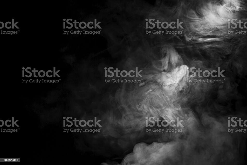 Tło dymu zbiór zdjęć royalty-free