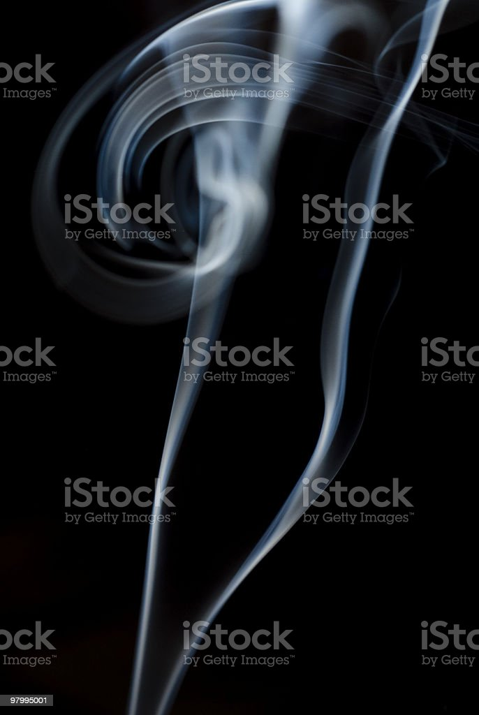 Abstract Smoke royalty free stockfoto