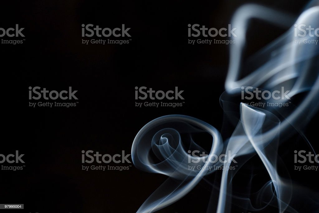 Abstract Smoke royalty free stockfoto