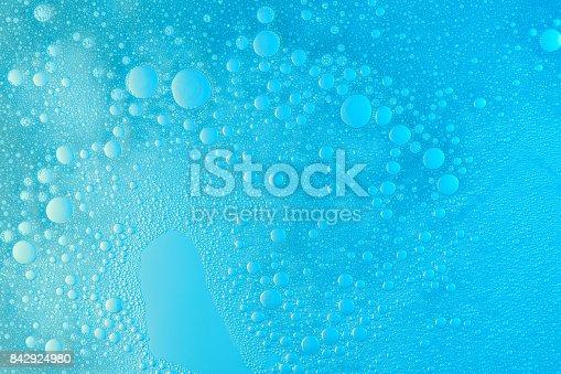 istock Abstract soap foam bubbles 842924980