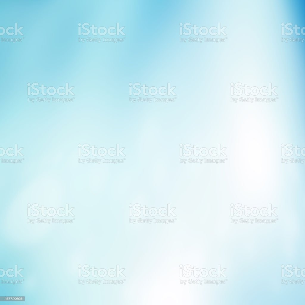 Abstract soft blue and white background