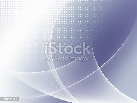 istock Abstract Soft Blue Futuristic Background With Wavy Pattern 938512532