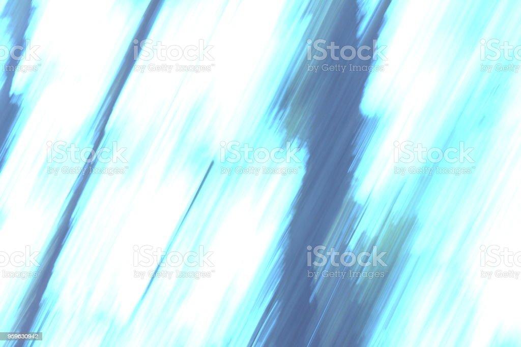 Abstracta fondo borroso suave con colores azul, verdes y blancos - Foto de stock de Abstracto libre de derechos