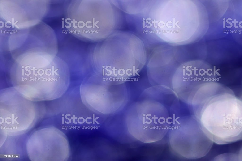 Abstract soft lens bokeh background violet purple stock photo