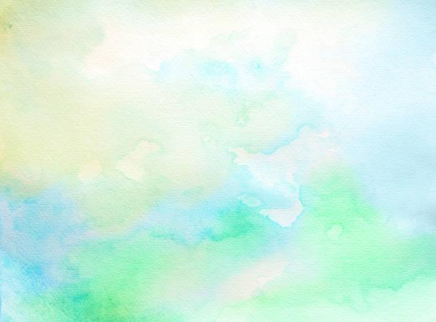 Abstrakte weiche Aquarell Hintergrund auf einem weißen Papier – Foto