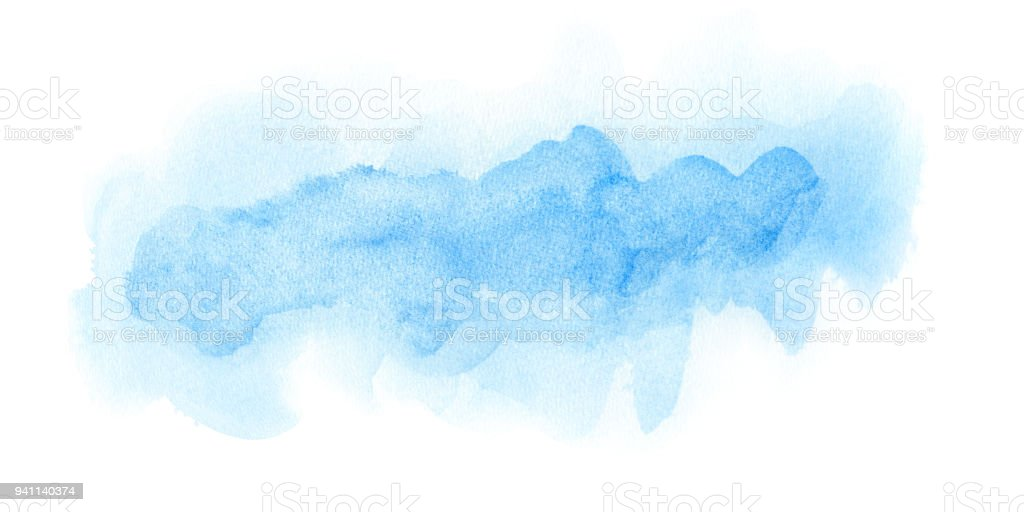 Abstract soft watercolor background. stock photo