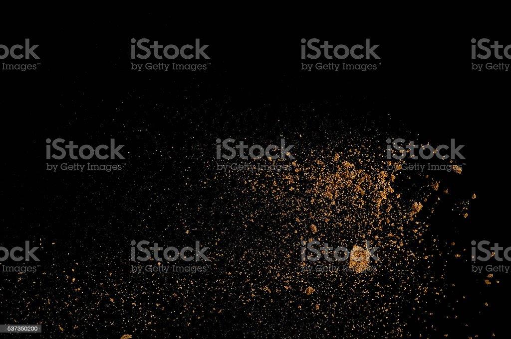 Resumen suelo explosión. - foto de stock