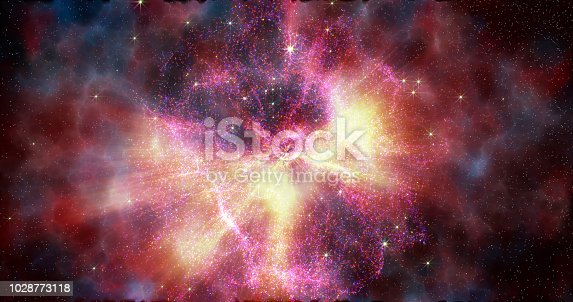 istock Abstract space galaxy stardust background 1028773118