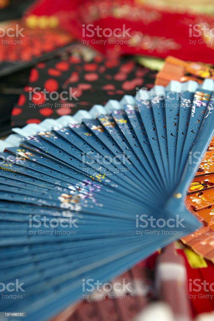 Abstract Spanish Fans royalty-free stock photo