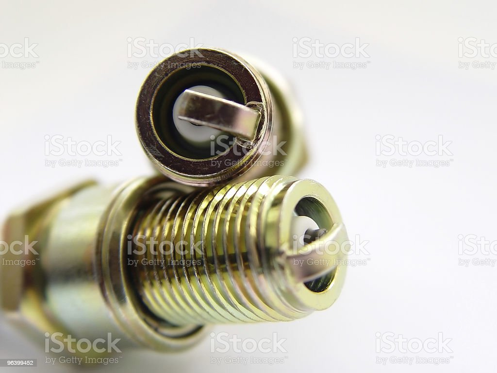 Abstract Spark Plugs - Royalty-free Brass Stock Photo