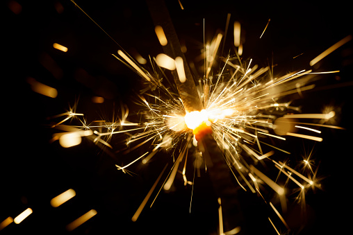 Abstract Sparkler Background