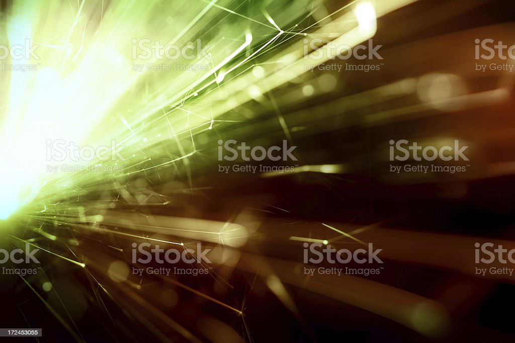 Abstract Sparkler Background royalty-free stock photo