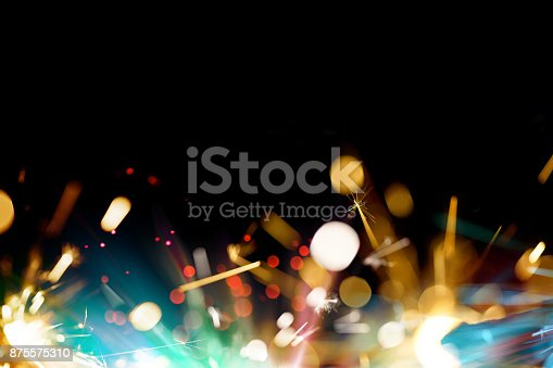 Abstract Sparkler BackgroundAbstract Sparkler Background