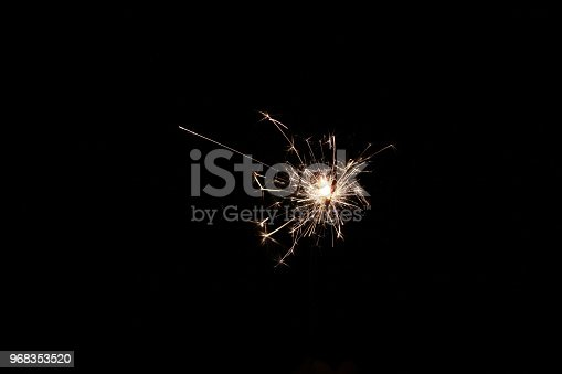 istock Abstract Sparkler Background 968353520