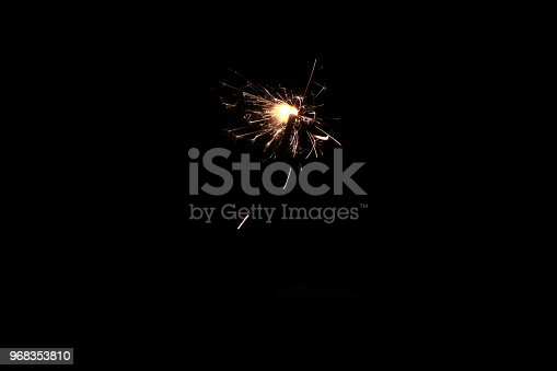 istock Abstract Sparkler Background 968353810
