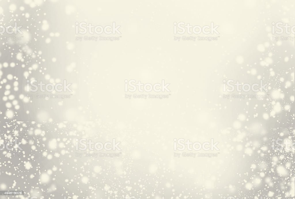 Abstract Sparkling Merry Christmas toned card with white stock photo