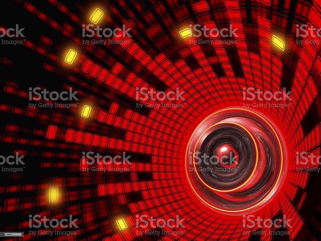 Abstract Speaker Sound stock photo