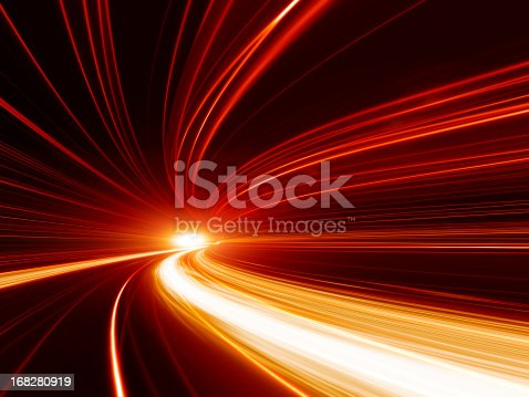 istock Abstract Speed motion in highway tunnel 168280919