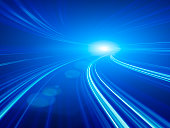 istock Abstract Speed motion in highway tunnel 171333727