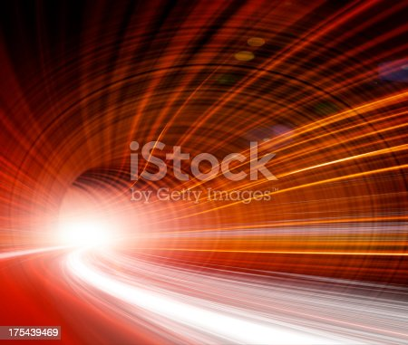 istock Abstract Speed motion in highway tunnel 175439469