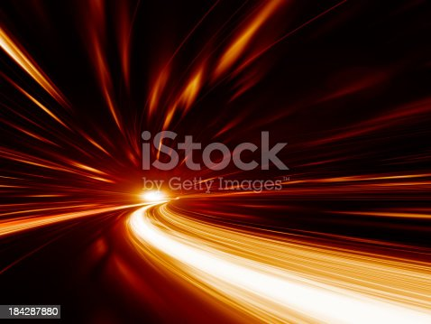 155133009 istock photo Abstract Speed motion in highway tunnel 184287880