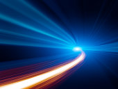 istock Abstract Speed motion in tunnel 184877239