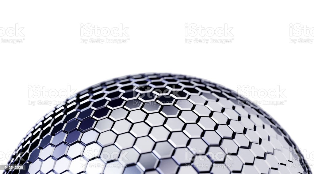 Abstract Sphere Background stock photo