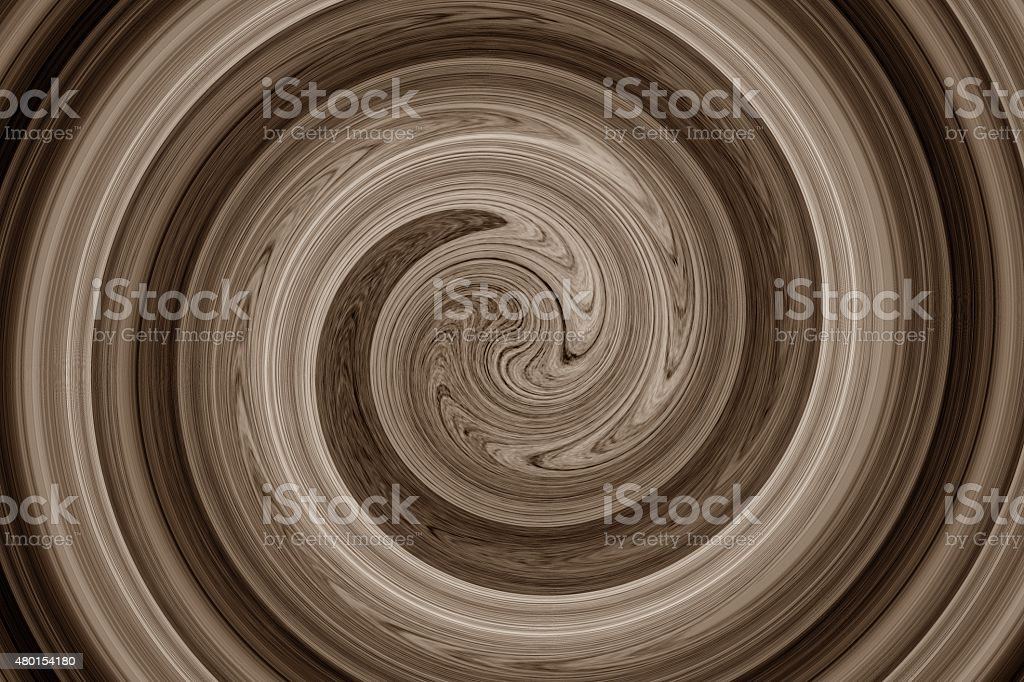 abstract spiral brown stock photo