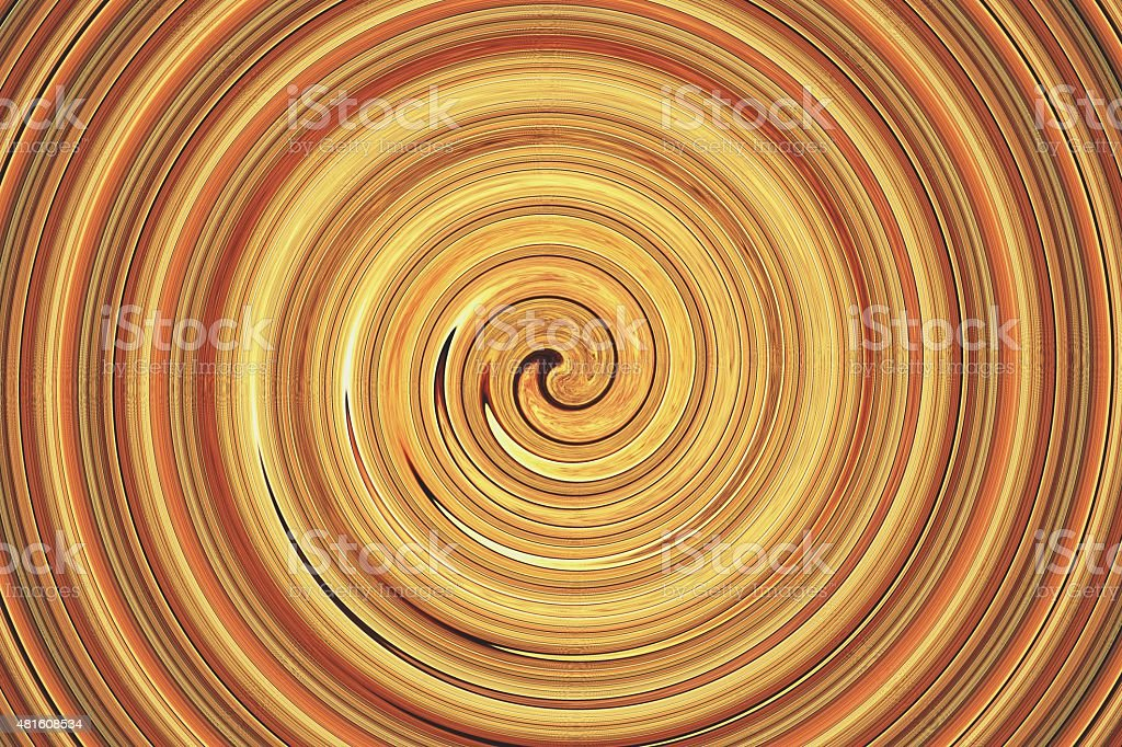 abstract spiral golden brown stock photo