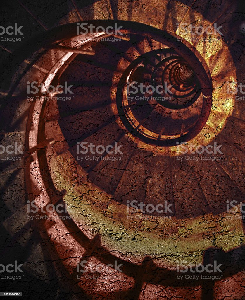 Abstract spiral grunge pattern - Royalty-free Abstract Stock Photo