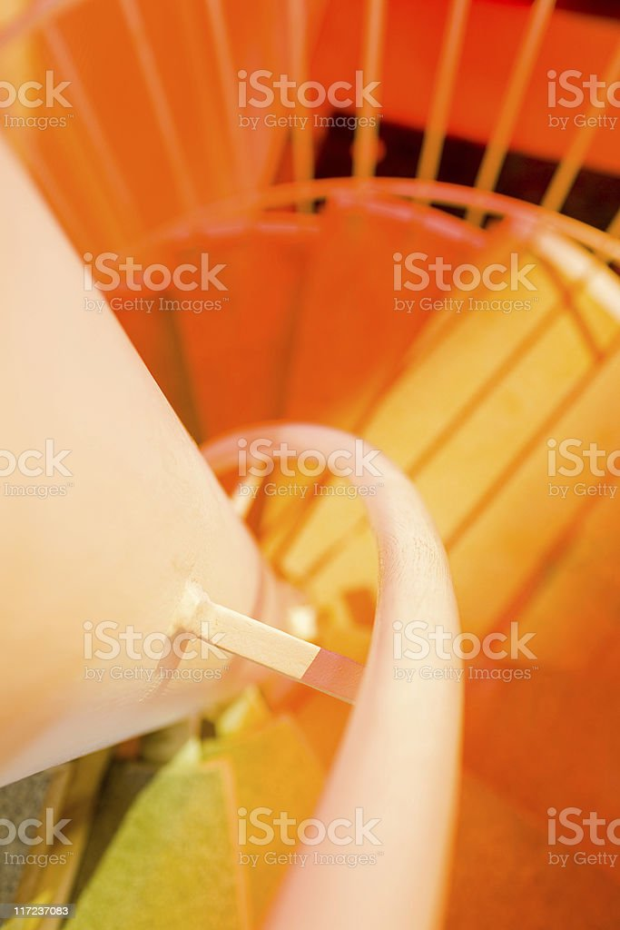 Abstract spiral royalty-free stock photo