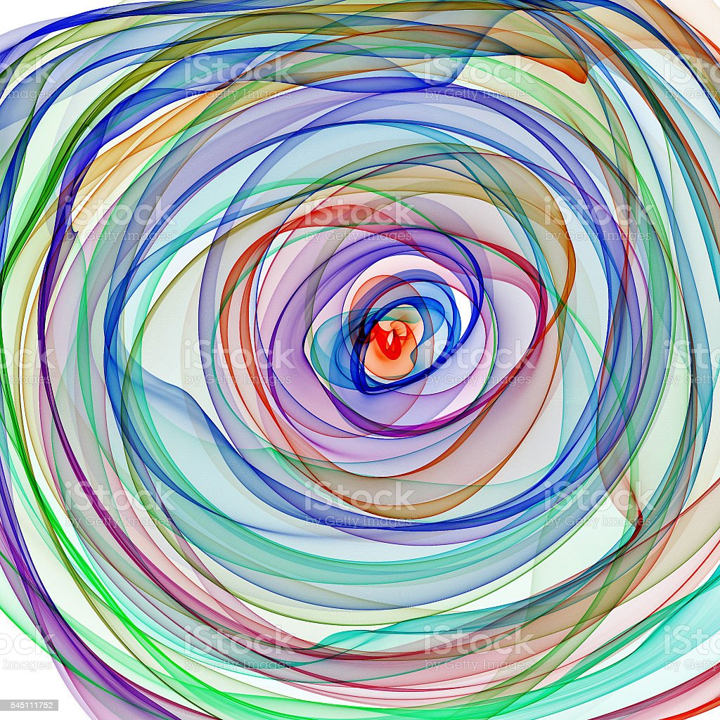 Abstract spiral stock photo