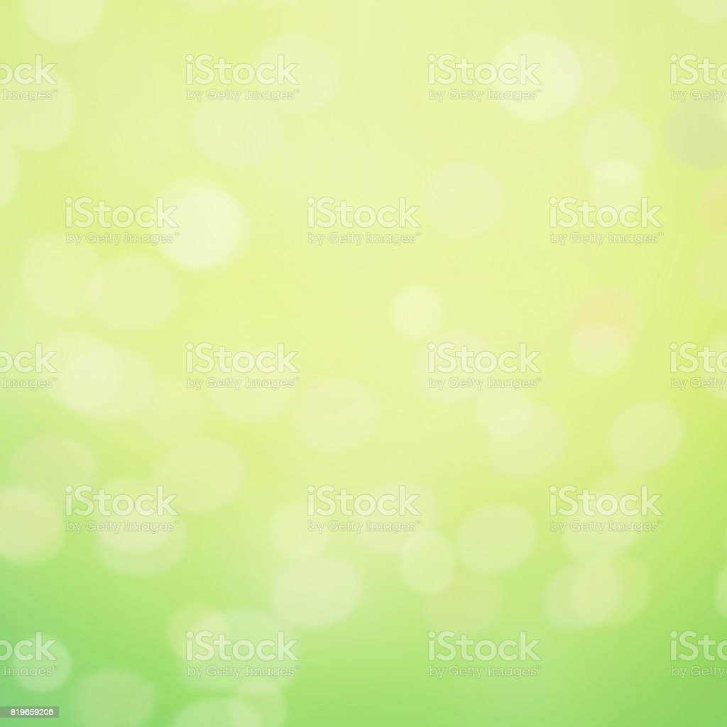 Abstract Spring Background With Defocused Bokeh Blur Texture Copy Space Poster For Your