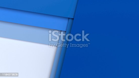 927319980 istock photo Abstract square cg background, 3d layers 1184573828