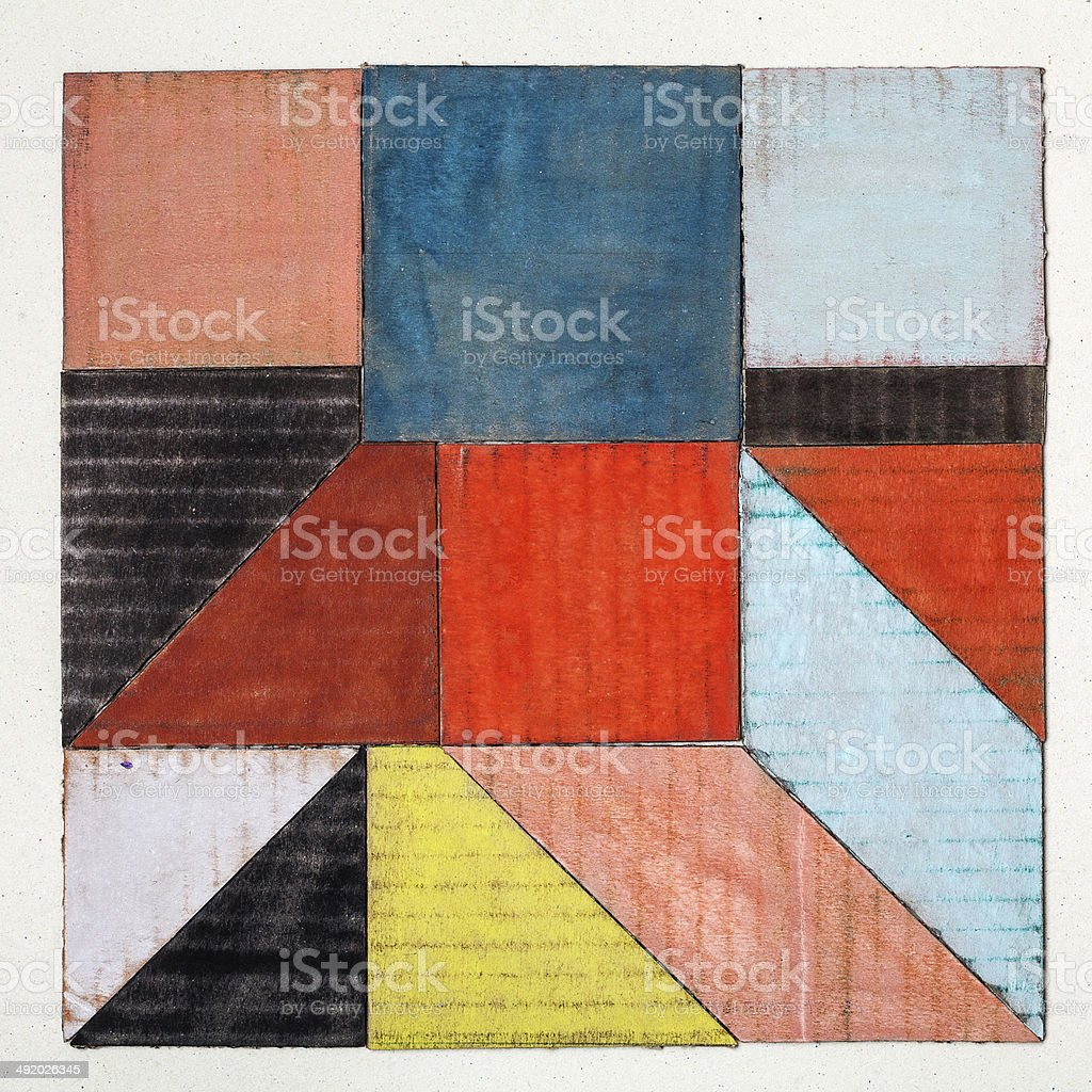 abstract square stock photo
