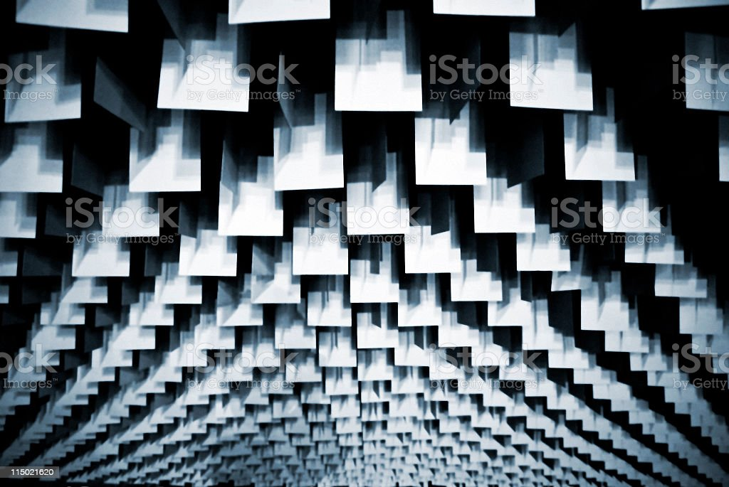 Abstract squares background stock photo