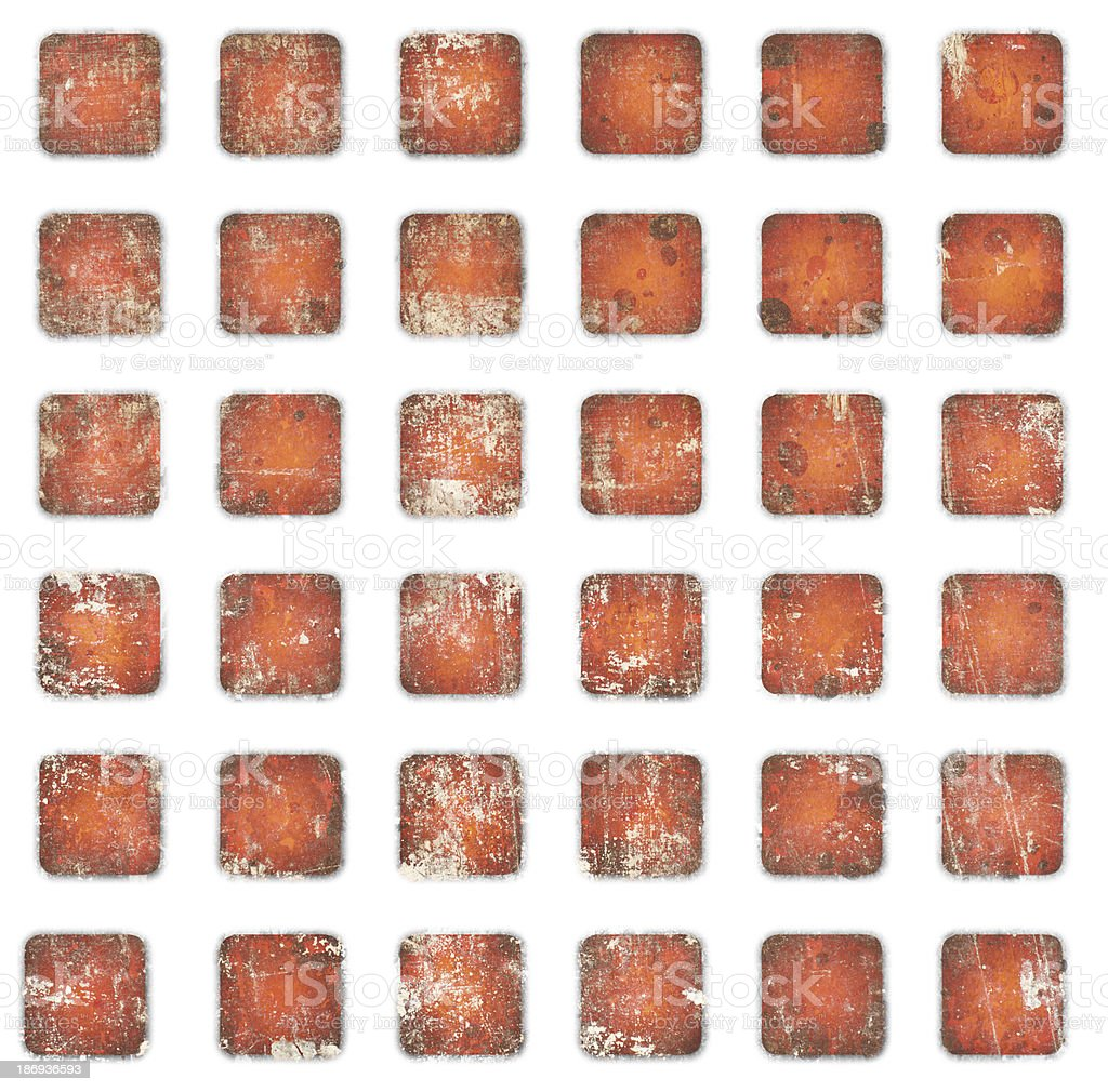 Abstract squares royalty-free stock photo