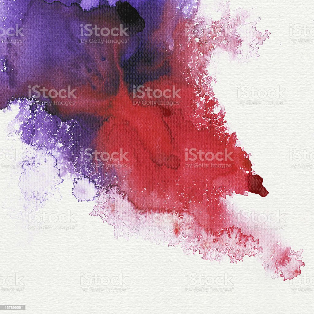 Abstract stain watercolors royalty-free stock photo